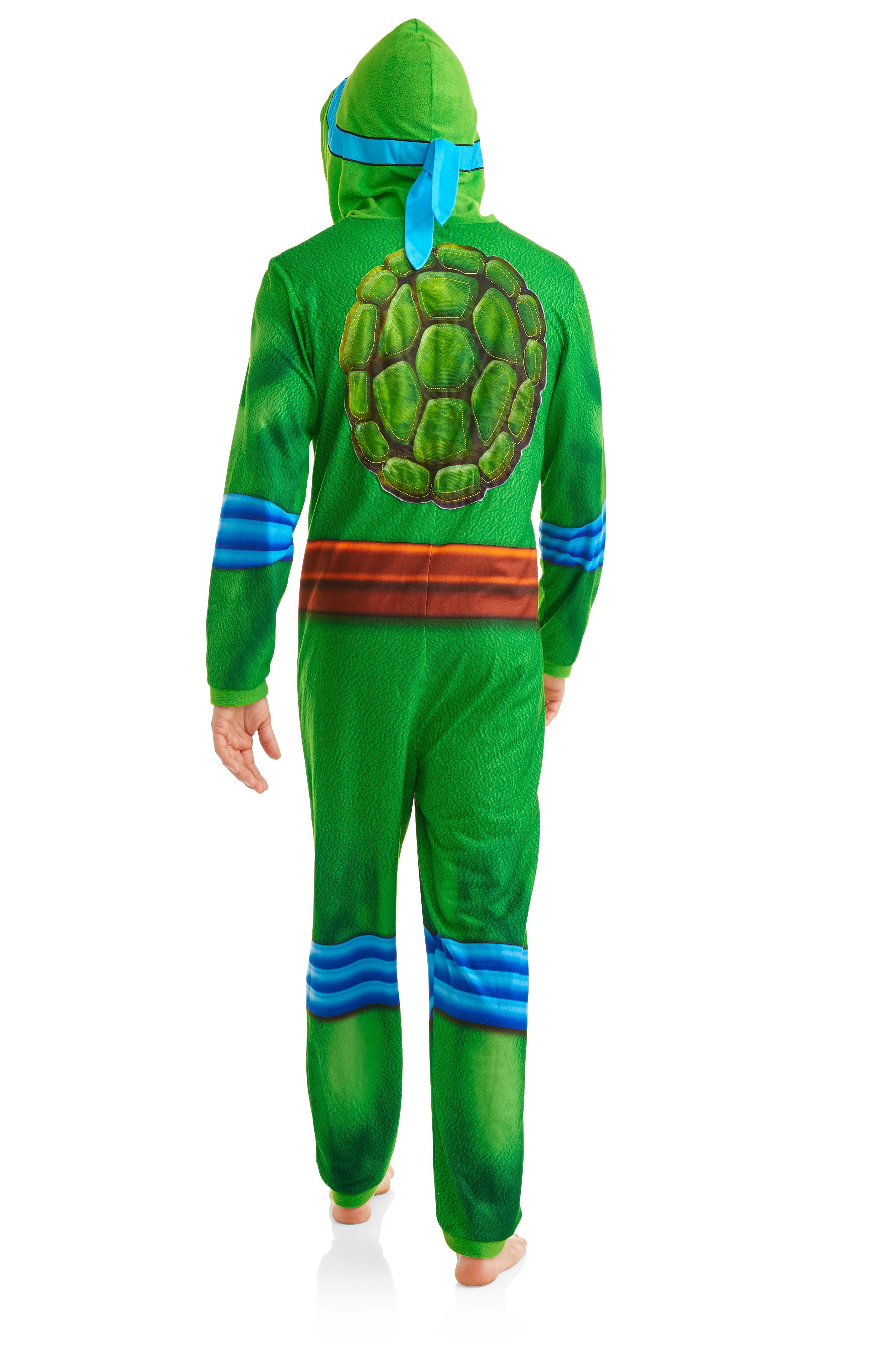 5e0d0234f Teenage Mutant Ninja Turtle Men s Onesie Union Suit - Walmart.com
