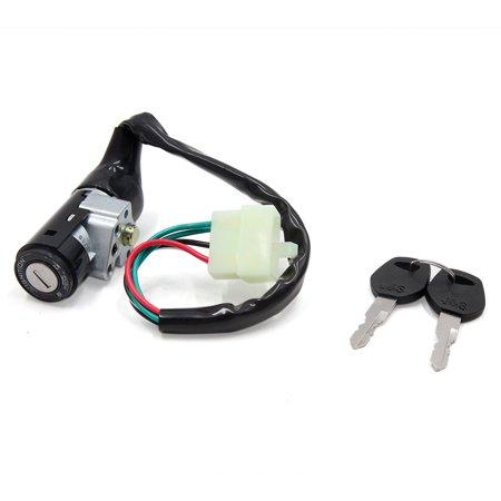 Australian Motorcycle (Motorcycle Scooter Security 5 Wires Ignition Switch Lock w 2 Keys for GY6 125 )