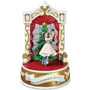 Clara And The Nutcracker Suite Musical - 18 Note Wind-Up Plays Classic Tune Multi-Colored