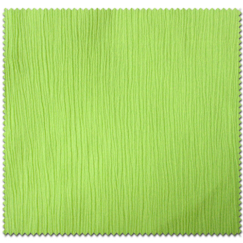 Crinkle Cotton Solid Fabric by the Yard, Lime