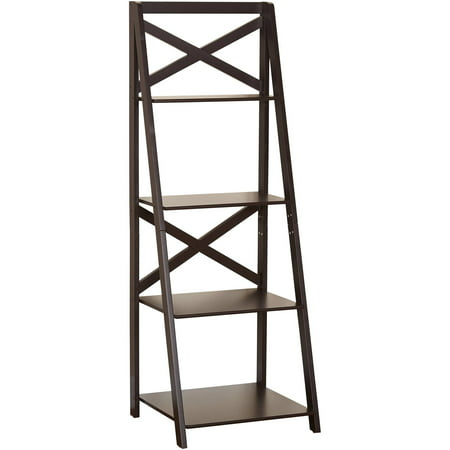 TMS X 4-Tier Shelf, Espresso