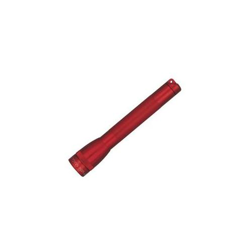 Mag m2a03h Mini Maglite Aa Flashlight with Holster - Red