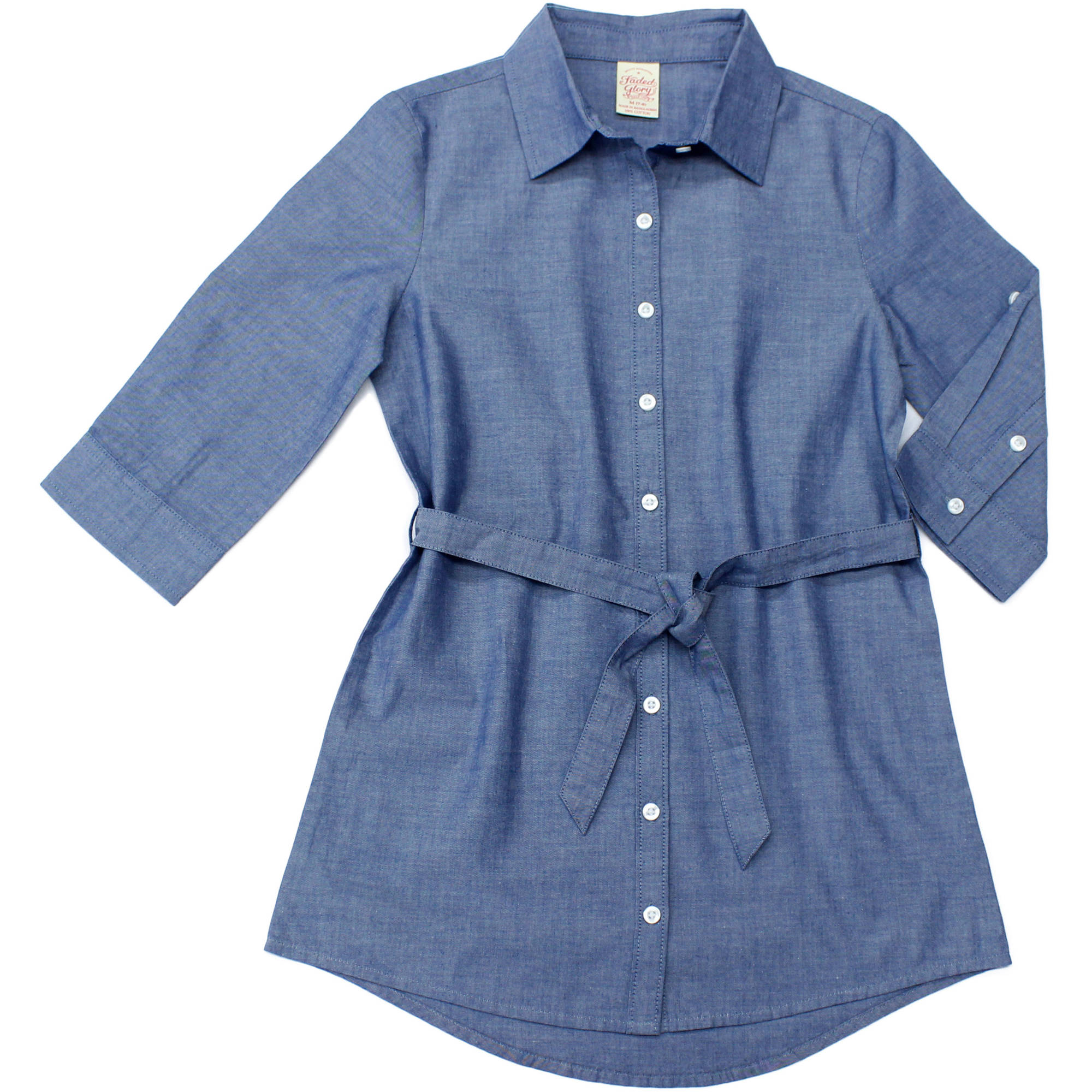 Faded Glory Girls' Chambray Tunic