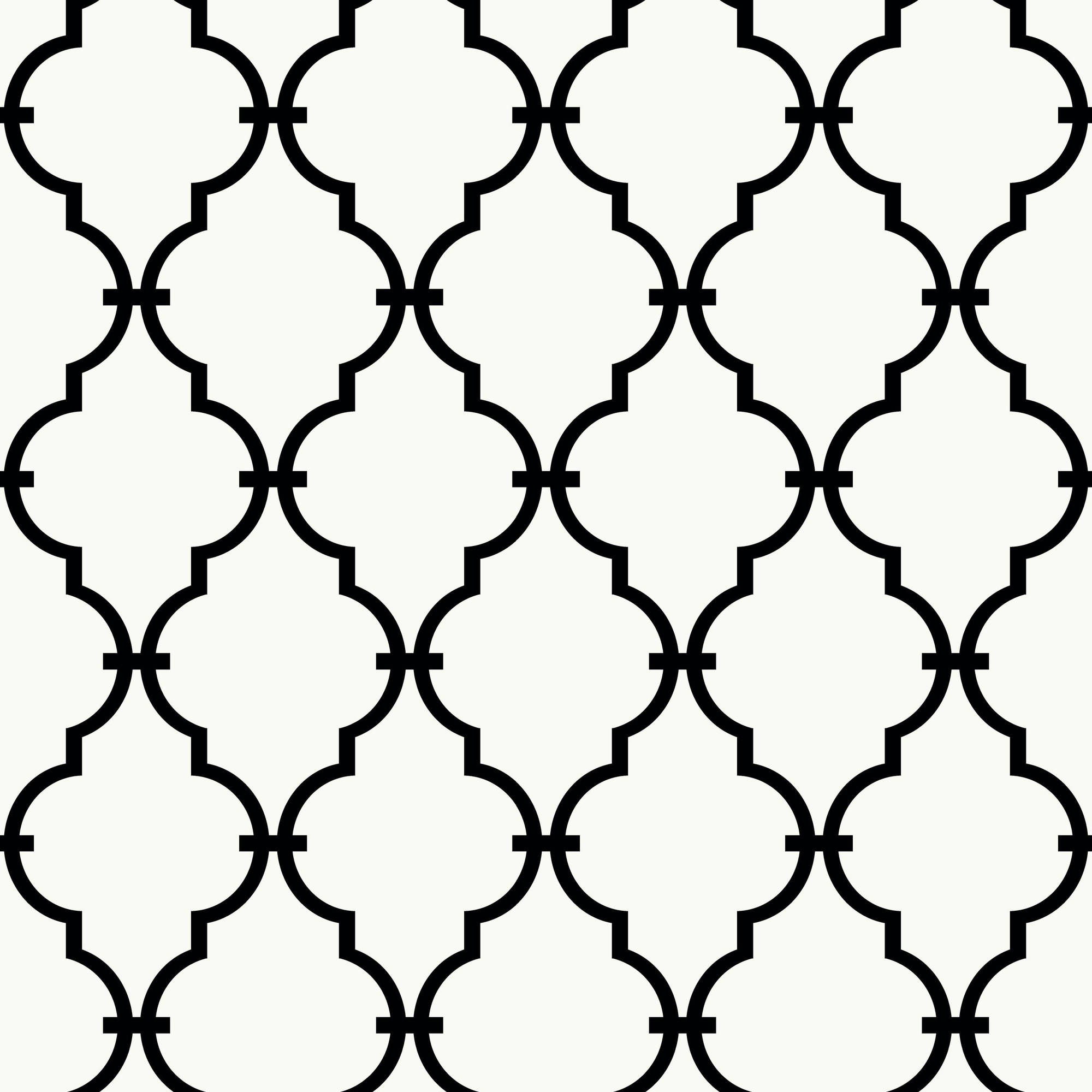 RoomMates Modern Trellis Peel and Stick Wall Décor Wallpaper