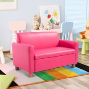 New Mtn G Pink Double Kid Toddler Sofa Armchair Recliner