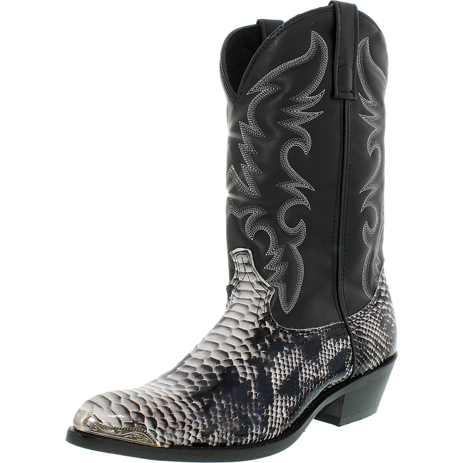 Laredo Men's Monty Synthetic Mid-Calf Fabric Boot by Laredo