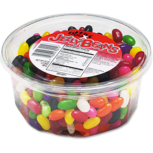 Office Snax Assorted Flavors Jelly Beans, 2lbs
