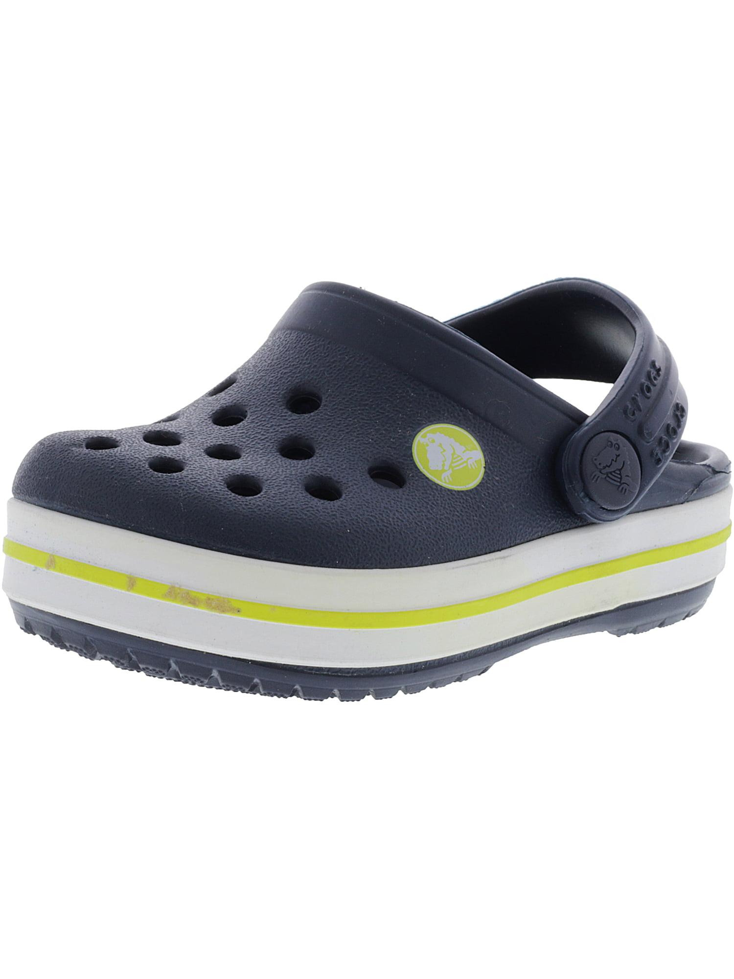 2ee887d9f700 Crocs Kids Crocband Clog Ltd Ultraviolet   White Clogs - 4M