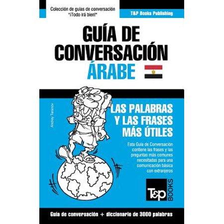 Guia De Conversacion Espanol Arabe Egipcio Y Vocabulario Tematico De 3000 Palabras