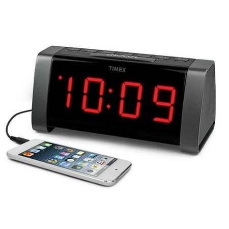 timex dual alarm clock am fm clock radio. Black Bedroom Furniture Sets. Home Design Ideas