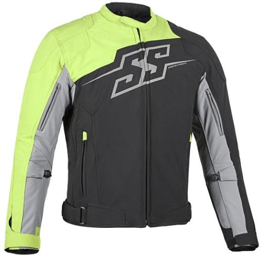 Speed & Strength Hammer Down Textile Jacket Hi-Vis/Black