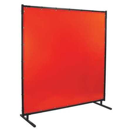 STEINER 538HD-6X6 Welding Screen,6 ft. W,6 ft.,Orange