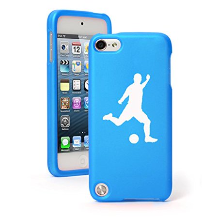 - For Apple iPod Touch 6th Generation Rubber Hard Case Cover Soccer Player
