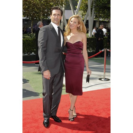 Jon Hamm At Arrivals For 2009 Creative Arts Emmy Awards - Arrivals Nokia Theatre Los Angeles Ca September 12 2009 Photo By Roth StockEverett Collection
