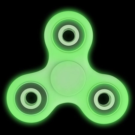 Glow in Dark Fidget Spinner Toy for Stress relief and Focus