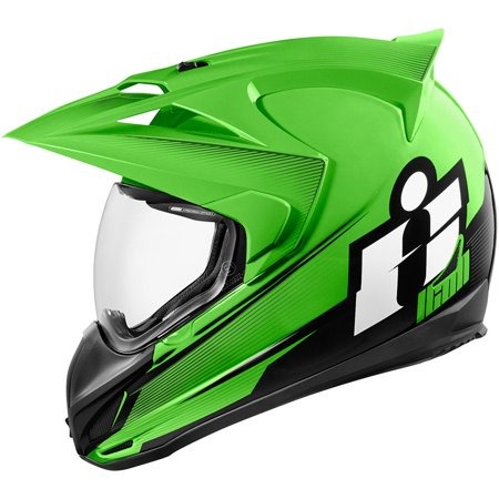 Icon Variant Double Stack Helmet Green Md  0101-10005