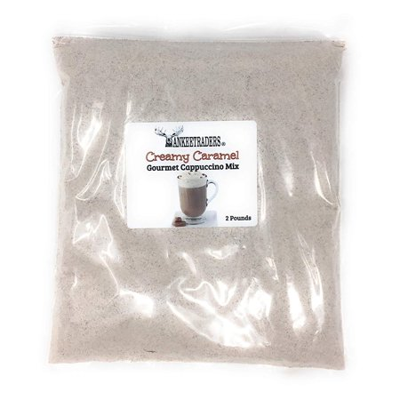 Instant Caramel - YANKEETRADERS Instant Creamy Caramel Cappuccino Mix, 2 Lb (Make Hot, Iced or Frozen)
