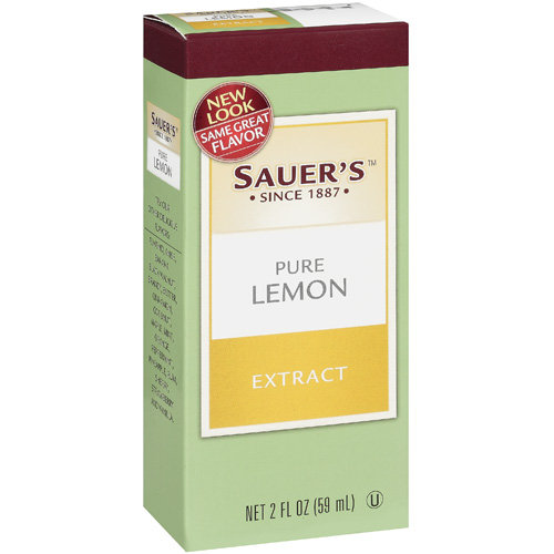 Sauer's: Pure Lemon Extract, 2 Oz