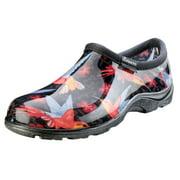 Sloggers 5117HUMRD10 Size 10 Women's Waterproof Hummingbird Red Comfort Shoe