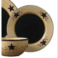 Star Vine Salad Plate Set