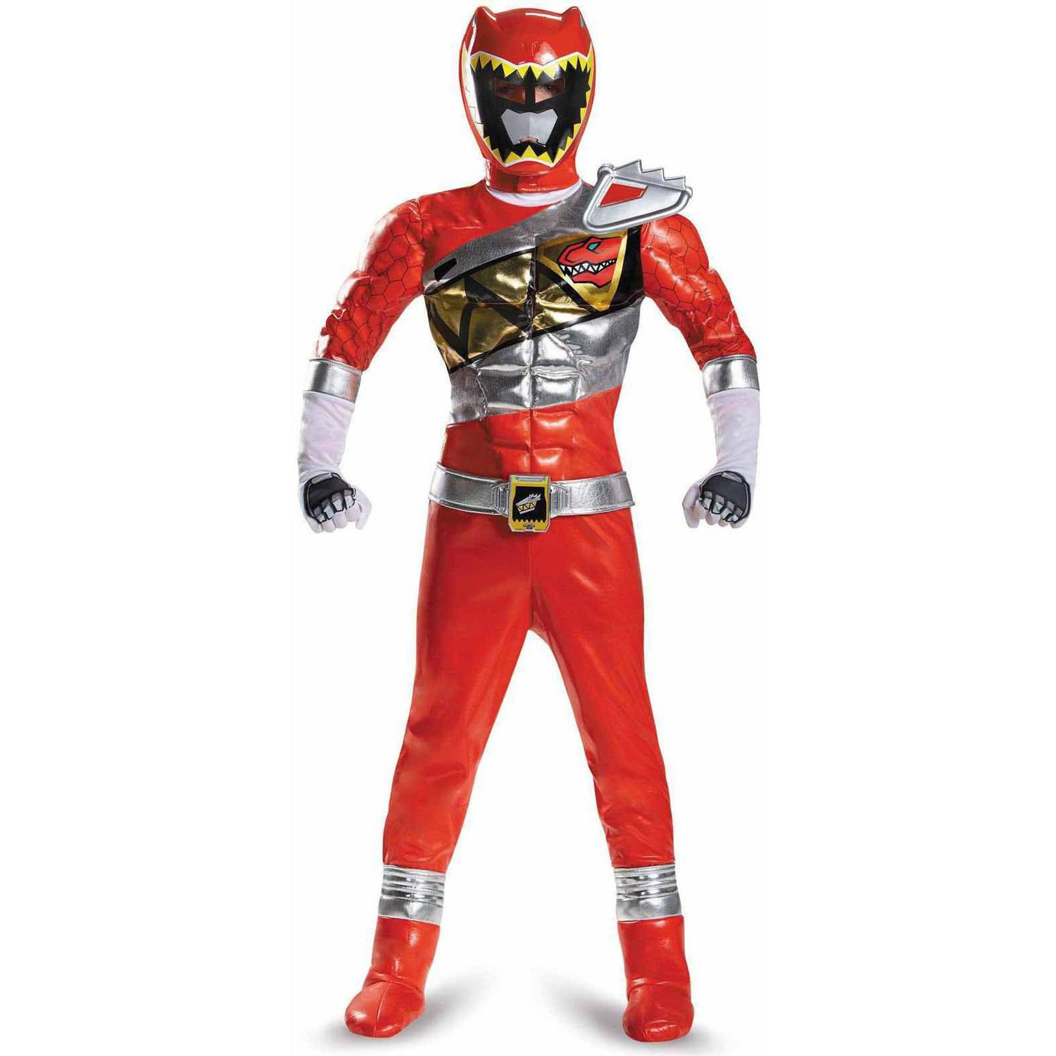 Power Rangers Dino Charge Red Ranger Prestige Child Halloween Costume