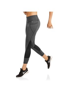 5253af7b6a755 Danskin Now Women s Active Allover Print Performance Capri with Mesh Inserts