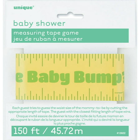 Baby Shower Tummy Measure Game