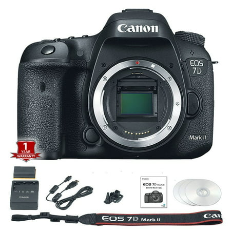 Canon EOS 7D Mark II Digital SLR Camera (Body Only) International Version (No