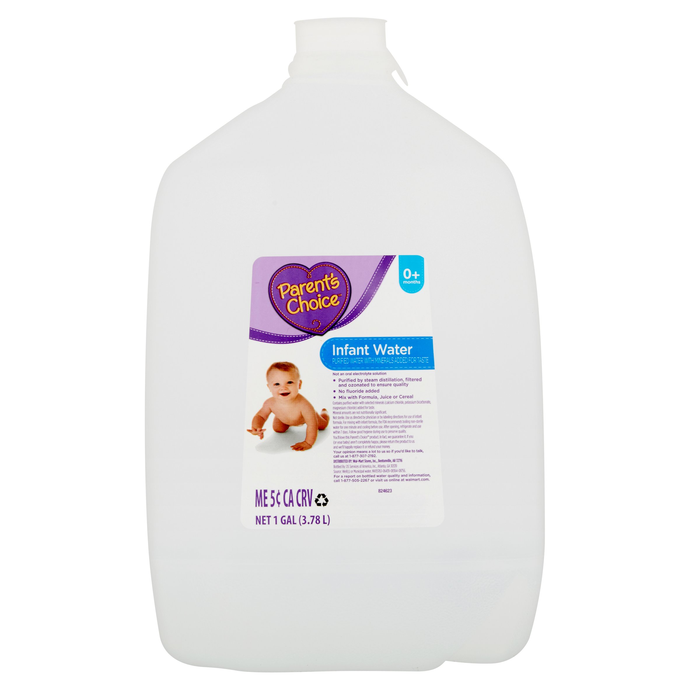 Parent\'s Choice Infant Water, 1 gal - Walmart.com