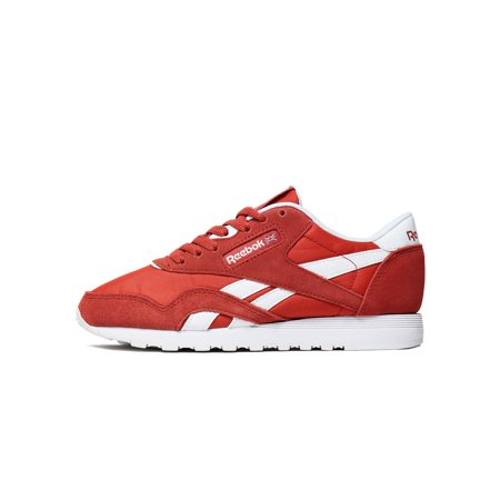 Reebok BS9377  Women s CL Nylon Neutrals Clay Tint White Sneaker (7 B(M)  US 4efef5043