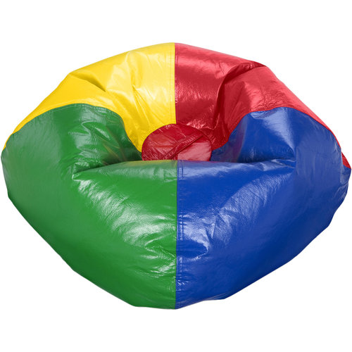 "X Rocker 96"" Round Vinyl Shiny Bean Bag, Available in Multiple Colors"