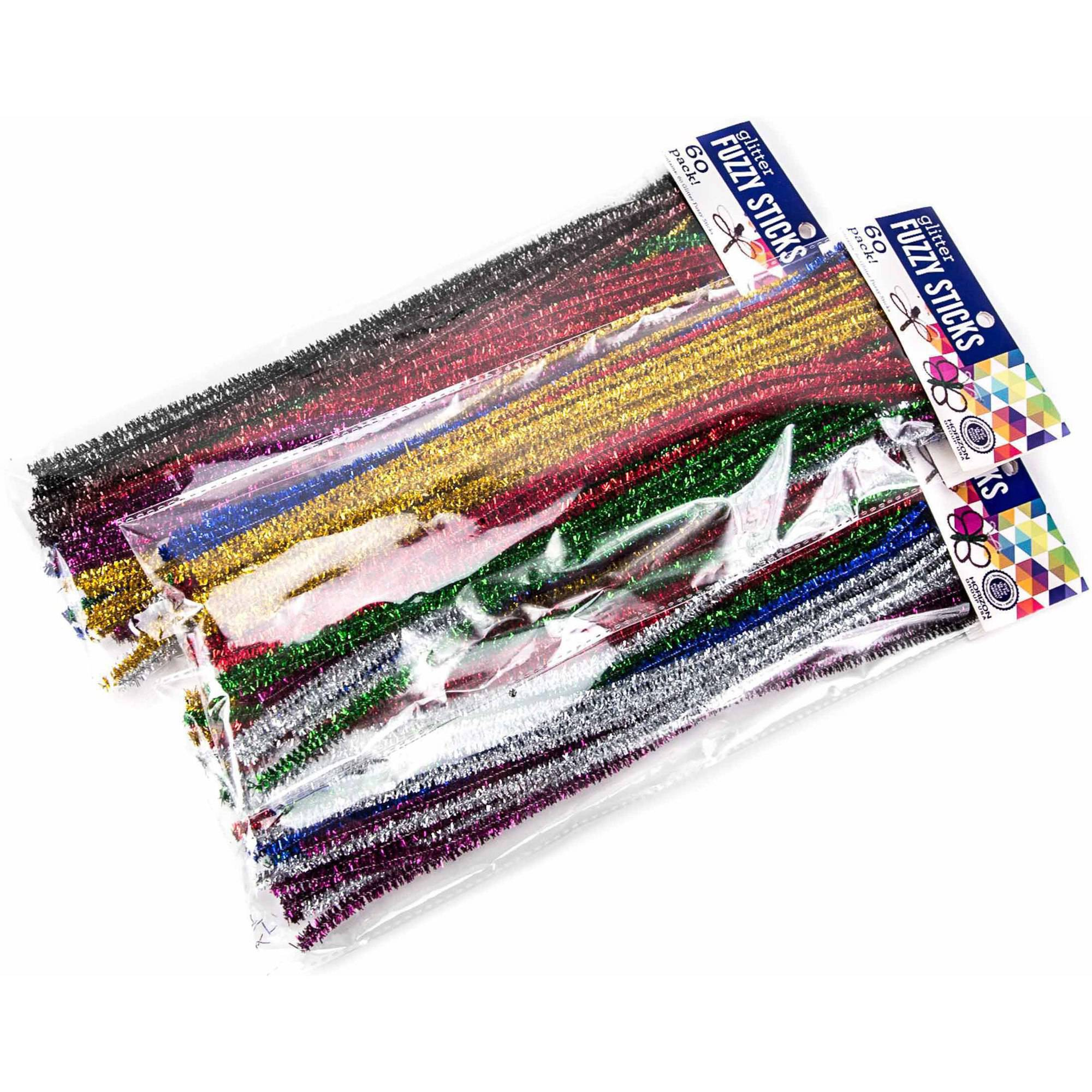 Horizon Group USA Glitter Fuzzy Sticks, 3pk by Horizon Group USA