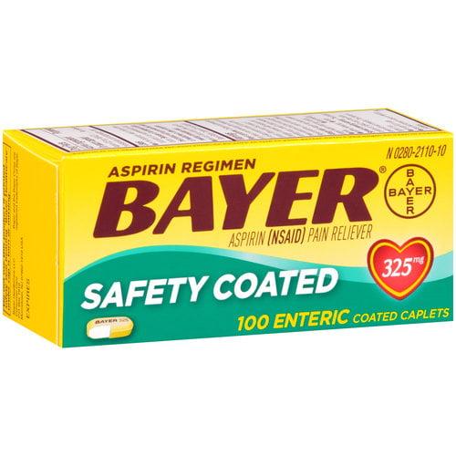 Bayer Asp Mr Cplt 325mg 100s 3dz