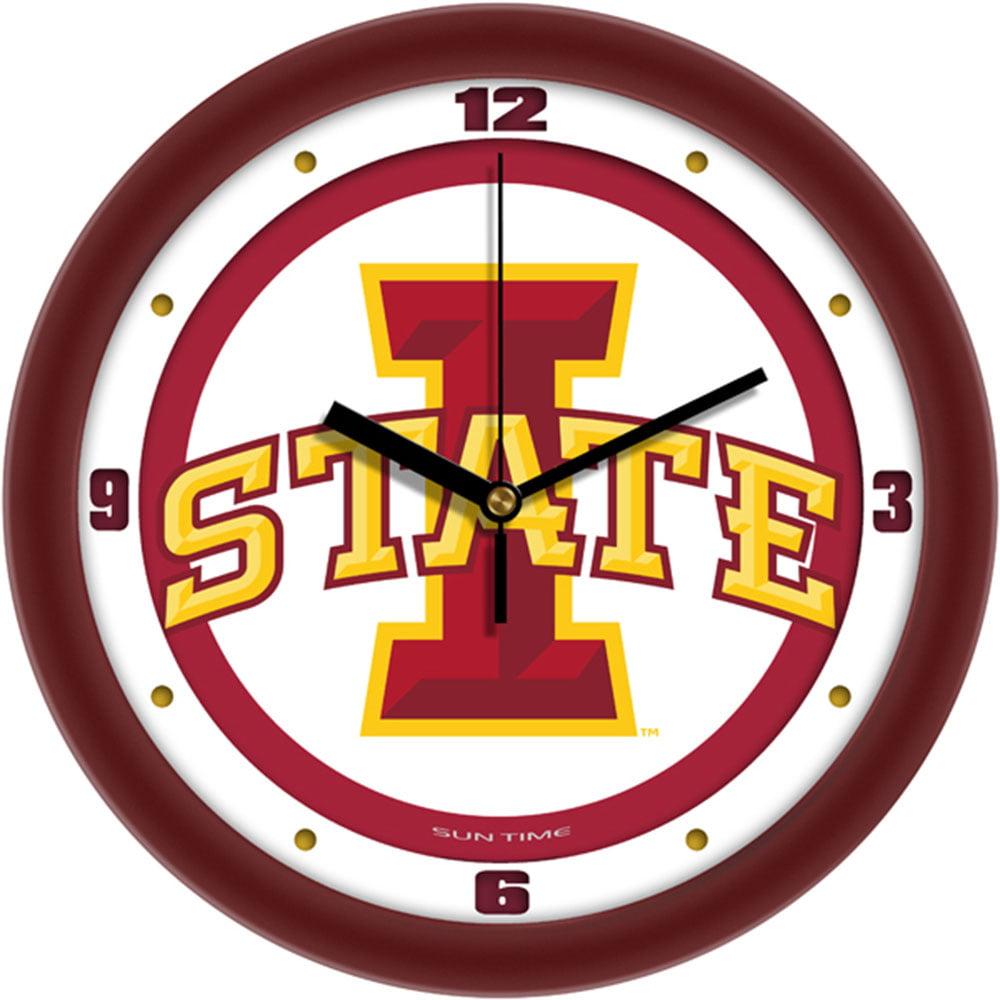 Iowa State Cyclones NCAA Wall Clock