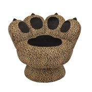 Paw Chair-Upholstery:Leopard