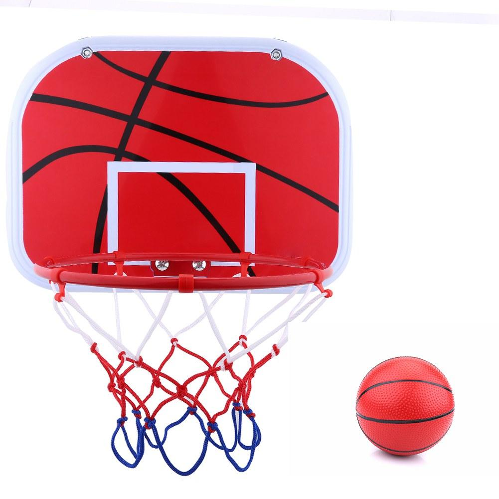 Details about  /Kids Basketball Hoop Toy with Basketballs Indoor Wall-Mounted Sports Game Gift