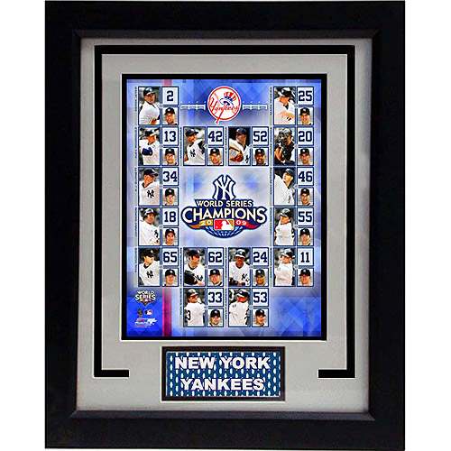 MLB New York Yankees Champions Deluxe Frame, 11x14