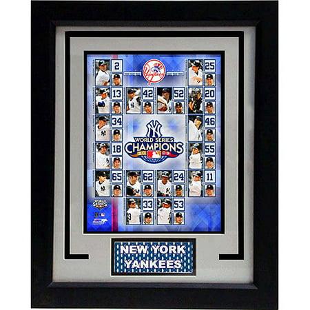 Mlb New York Yankees Champions Deluxe Frame 11x14 Walmart