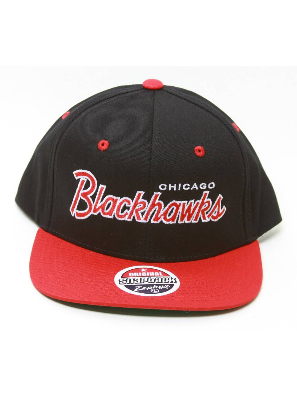 9d8a408746a ... switzerland zephyr nhl chicago blackhawks script snapback hat 3ae90  78b56