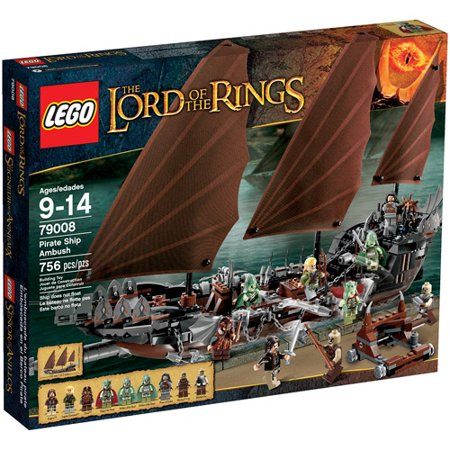 LEGO Lord of the Rings Pirate Ship Ambush Play Set