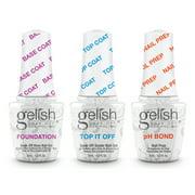 Gelish Soak-Off Terrific Trio Basix Gel Nail Polish Kit, 15mL each - Best Reviews Guide