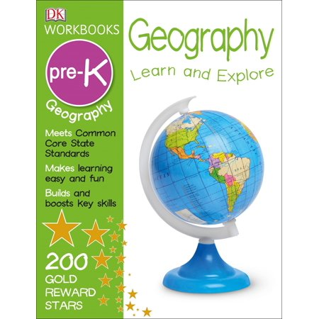 Geography Workbook Set - DK Workbooks: Geography Pre-K : Learn and Explore