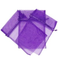 """30 Organza Bags Fabric Gift Party Bags - 5.5"""" By 9"""""""