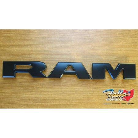 2019-2020 Dodge RAM 1500 Matte Black Replacement Grill Lettering NEW MOPAR OEM ()