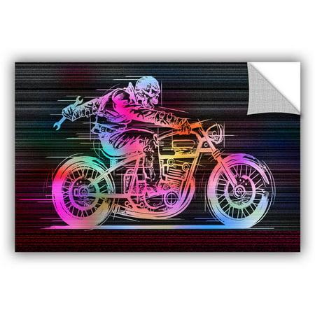 Artappealz Greg Simanson   Moto Iv   Removable Wall Art