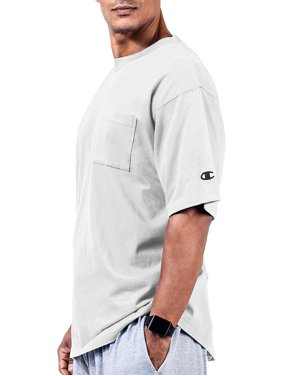 e5b3a3dfa13c Product Image Champion Big   Tall Men s Short Sleeve Pocket Jersey Tee -  White - 4XLT