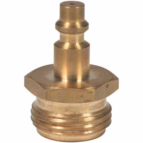 Camco Blow Out Plug, Quick Connect, Brass