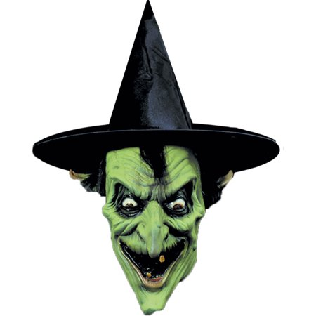 Morris Costumes Horror Halloween Latex Witch Mask, Style - Witch Latex Mask