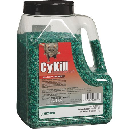 CyKill Meal Bait Rat And Mouse Poison ()