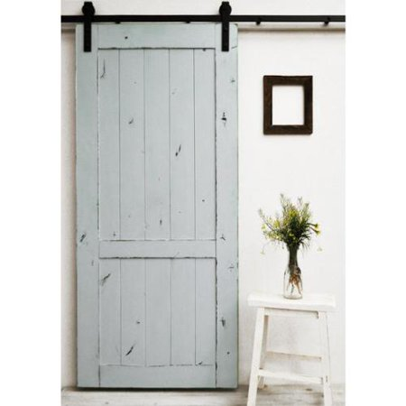 Dogberry country vintage 82 inch barn door dark chocolate for 40 inch barn door